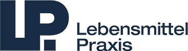 Logo Lebensmittelpraxis dunkelblau