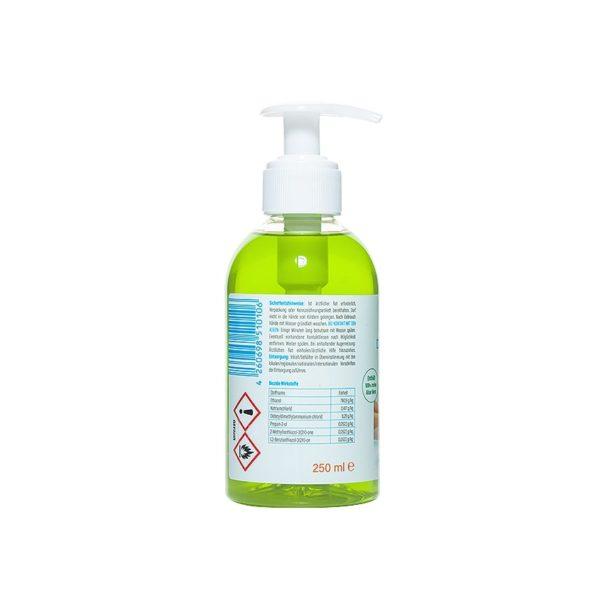 Produktbild SETASAN Desinfizierende Waschlotion 250ml Rückseite